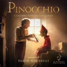 Обложка к диску с музыкой из фильма «Пиноккио»