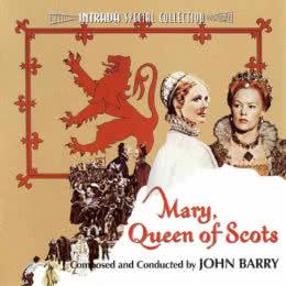 Обложка к диску с музыкой из фильма «Мария - королева Шотландии»