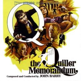 Обложка к диску с музыкой из фильма «Меморандум Квиллера»
