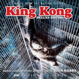 Обложка к диску с музыкой из фильма «Кинг Конг»