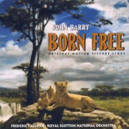 Обложка к диску с музыкой из фильма «Рожденная свободной»