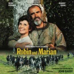 Обложка к диску с музыкой из фильма «Робин и Мэриан»