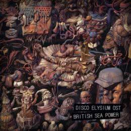 Обложка к диску с музыкой из игры «Disco Elysium»