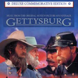 Обложка к диску с музыкой из фильма «Геттисбург»
