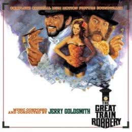 Обложка к диску с музыкой из фильма «Большое ограбление поезда»