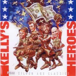 Обложка к диску с музыкой из фильма «Герои Келли»