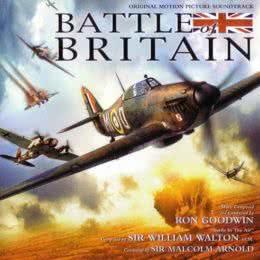 Обложка к диску с музыкой из фильма «Битва за Англию»