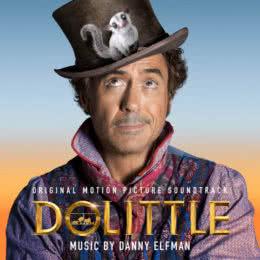 Обложка к диску с музыкой из фильма «Удивительное путешествие доктора Дулиттла»