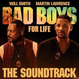 Обложка к диску с музыкой из фильма «Плохие парни навсегда»