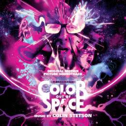Обложка к диску с музыкой из фильма «Цвет из иных миров»