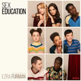 Обложка к диску с музыкой из сериала «Половое воспитание»