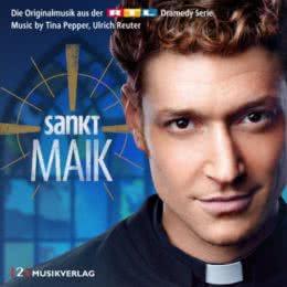 Обложка к диску с музыкой из сериала «Святой Майк (Volume 1)»