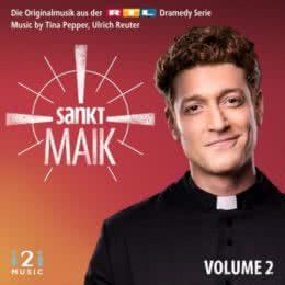 Обложка к диску с музыкой из сериала «Святой Майк (Volume 2)»