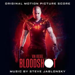 Обложка к диску с музыкой из фильма «Бладшот»