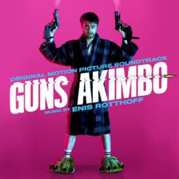 Обложка к диску с музыкой из фильма «Пушки Акимбо»