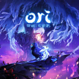 Обложка к диску с музыкой из игры «Ori and the Will of the Wisps»