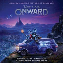 Обложка к диску с музыкой из мультфильма «Вперёд»