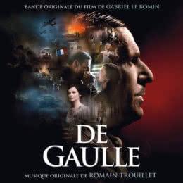 Обложка к диску с музыкой из фильма «Де Голль»