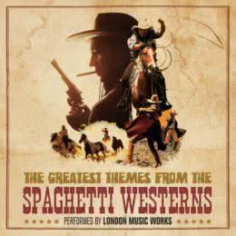 Обложка к диску с музыкой из сборника «The Greatest Themes from the Spaghetti Westerns»