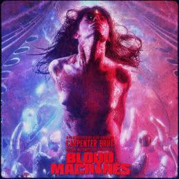Обложка к диску с музыкой из фильма «Кровавые машины»