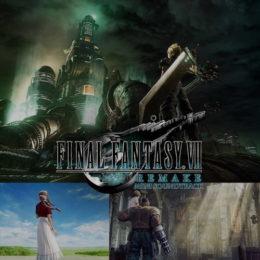 Обложка к диску с музыкой из игры «Final Fantasy VII Remake»