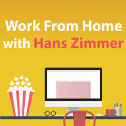 Обложка к диску с музыкой из сборника «Work from Home with Hans Zimmer»