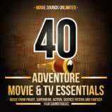Маленькая обложка диска c музыкой из сборника «40 Adventure Movie & TV Essentials»