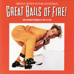 Обложка к диску с музыкой из фильма «Большие огненные шары»