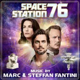 Обложка к диску с музыкой из фильма «Космическая станция 76»