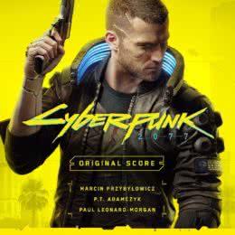 Обложка к диску с музыкой из игры «Cyberpunk 2077»