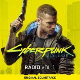 Обложка к диску с музыкой из игры «Cyberpunk 2077 (Radio Volume 1)»