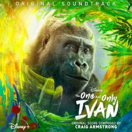 Обложка к диску с музыкой из фильма «Айван, единственный и неповторимый»