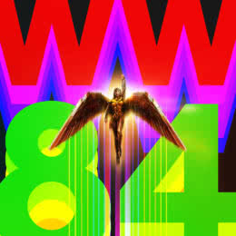 Обложка к диску с музыкой из фильма «Чудо-женщина: 1984»