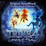 Маленькая обложка диска c музыкой из игры «Trine 4: Melody of Mystery»