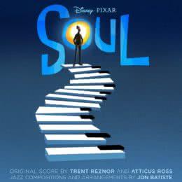 Обложка к диску с музыкой из мультфильма «Душа»