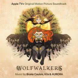 Обложка к диску с музыкой из мультфильма «Легенда о волках»