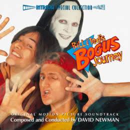 Обложка к диску с музыкой из фильма «Новые приключения Билла и Теда»