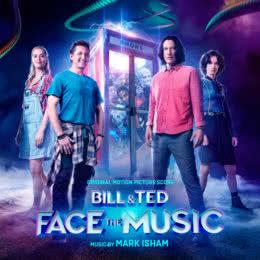 Обложка к диску с музыкой из фильма « Билл и Тед»