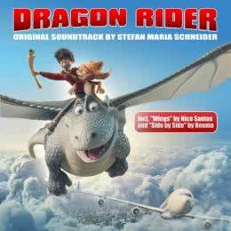 Обложка к диску с музыкой из мультфильма «Повелитель драконов»