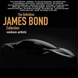 Обложка к диску с музыкой из сборника «The Definitive James Bond Collection»