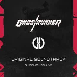 Обложка к диску с музыкой из игры «Ghostrunner»