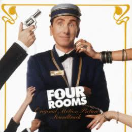 Обложка к диску с музыкой из фильма «Четыре комнаты»