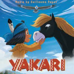 Обложка к диску с музыкой из мультфильма «Якари»