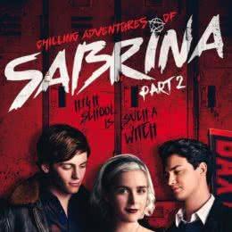 Обложка к диску с музыкой из сериала «Леденящие душу приключения Сабрины (2 часть)»