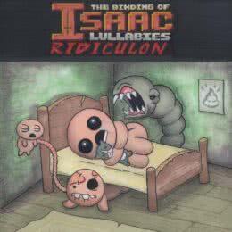 Обложка к диску с музыкой из игры «The Binding of Isaac: Lullabies»