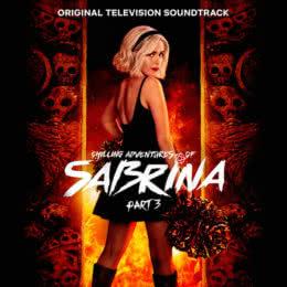 Обложка к диску с музыкой из сериала «Леденящие душу приключения Сабрины (3 часть)»