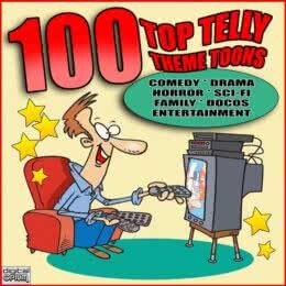 Обложка к диску с музыкой из сборника «100 Top Telly Theme Toons»