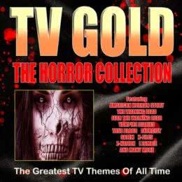 Обложка к диску с музыкой из сборника «TV Gold - Horror Collection»
