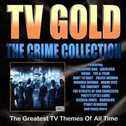 Обложка к диску с музыкой из сборника «TV Gold - Crime Collection»