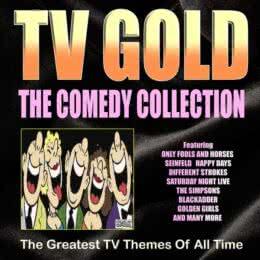 Обложка к диску с музыкой из сборника «TV Gold - Comedy Collection»
